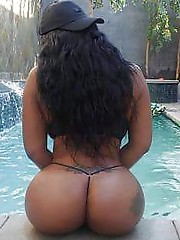Real naked young ebony girl