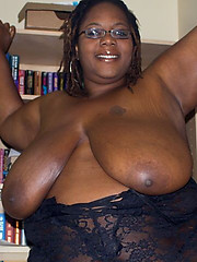 Hairy fat black women