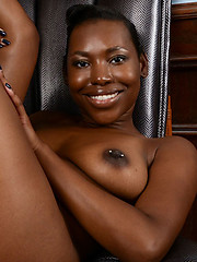 Nice ebony tits and nipples