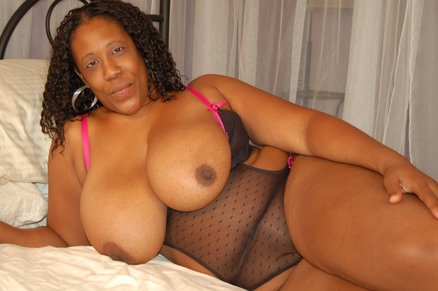 Huge beautiful black tits